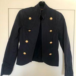 ABS Allen Schwartz Luxury Collection Navy Blazer!